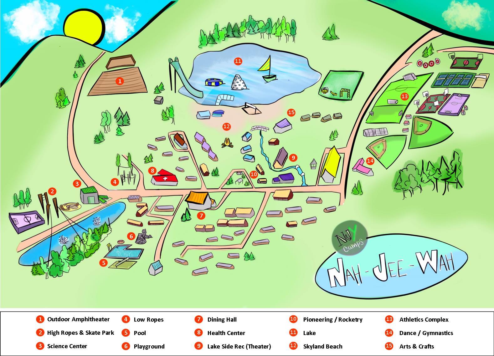 NJW Map